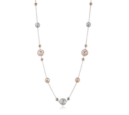 Frank Usher Shaker Ball 110cm Necklace