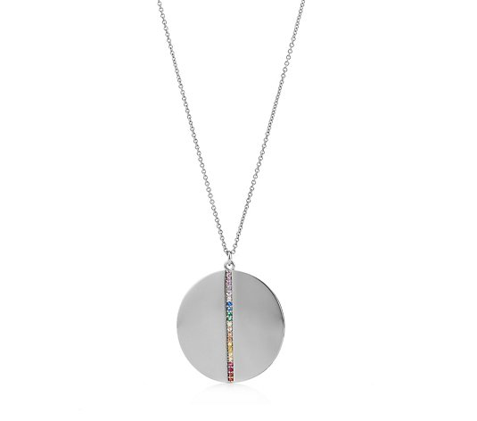 Scream Pretty Rainbow Disc 76cm Necklace