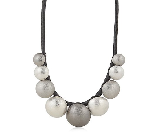 Frank Usher Disc Collar Necklace