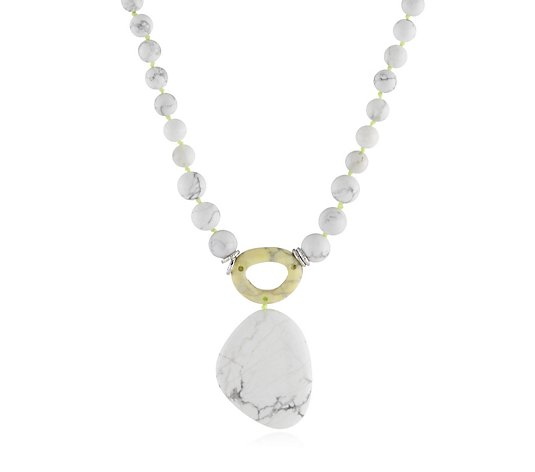 "Lola Rose Semi Precious Colm 18-25"" Necklace"