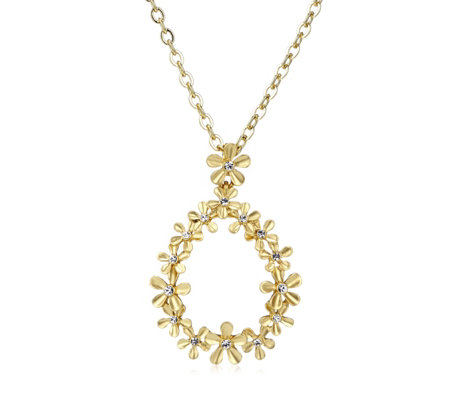 Roberto by RFM Giardino Drop 45cm Necklace with 5cm Extender