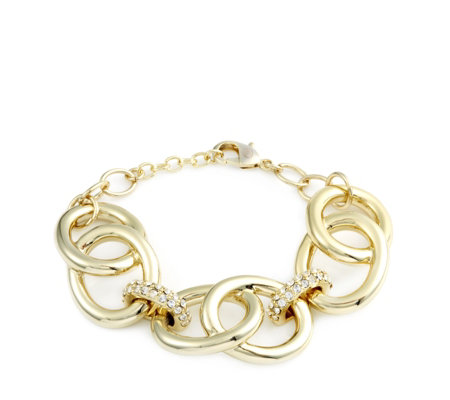 Roberto by RFM Solo Oro Circle Link Bracelet