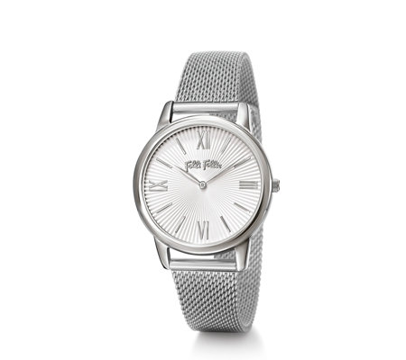 Folli Follie Match Point Silver 23.5cm Bracelet Watch