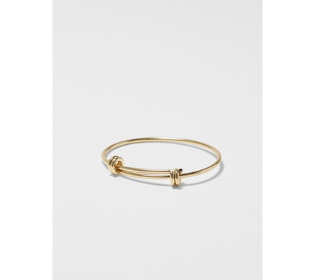 Pilgrim Trinity Gold Plated Bangle