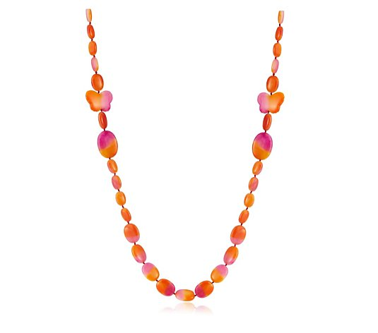Lola Rose Barni Semi Precious 100cm Necklace