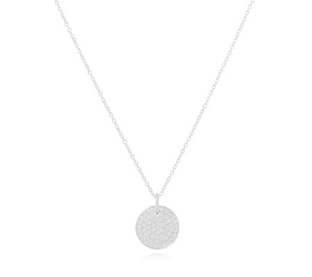 K by Kelly Hoppen Cubic Zirconia 45cm Necklace in a Bauble Sterling Silver