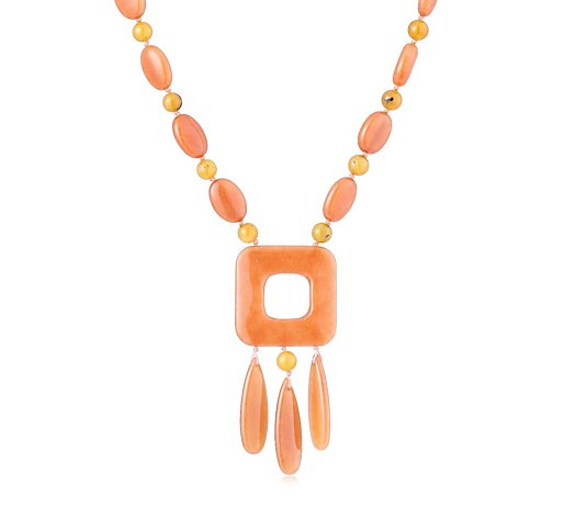 Prue x Lola Rose Keaton Semi Precious Necklace