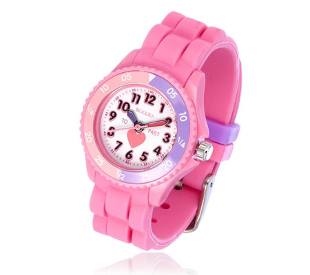 Tikkers Time Teacher Silicone Strap Watch