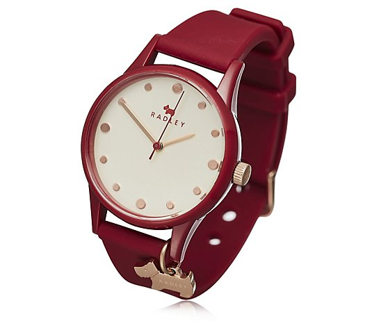 Radley London Large Dial Watch It Silicone Strap Watch
