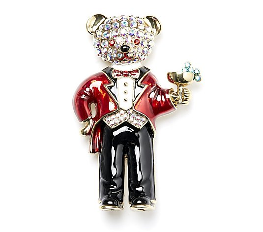 Butler & Wilson Waiter Mouse Brooch