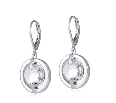 Outlet Aurora Swarovski Crystal Lever Back Drop Earrings Qvc Uk