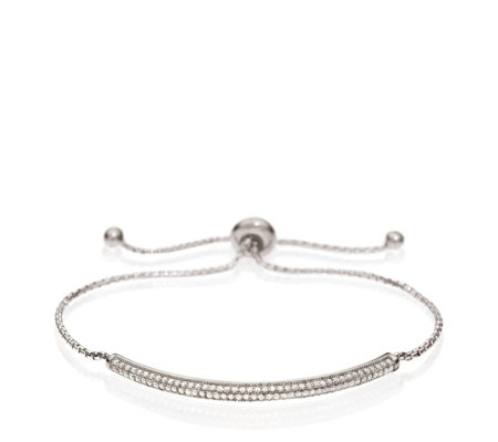 Folli Follie Fashionably Silver Sparkle Ball Bracelet