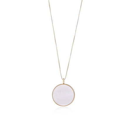 Pilgrim Mother of Pearl 40cm Necklace