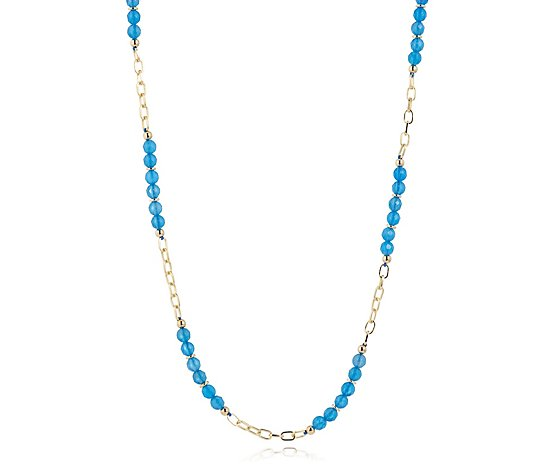 "Lola Rose Semi Precious Morar 18-24"" Necklace"