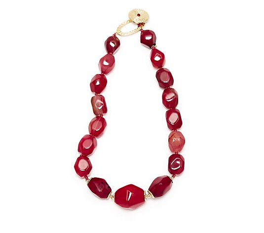 Lola Rose Tanya Semi Precious 44cm Necklace