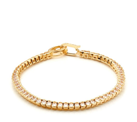 K by Kelly Hoppen Miami Tennis Bracelet Bronze