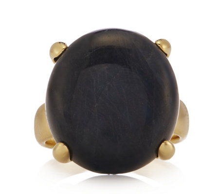 K by Kelly Hoppen Miami Collection Labradorite Ring Bronze