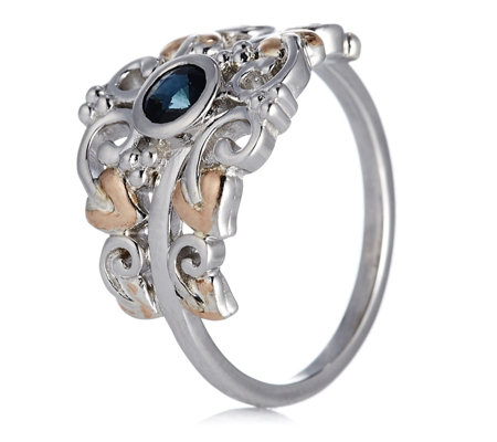 Clogau 9ct Rose Gold & Sterling Silver Enchanted Forest Ring