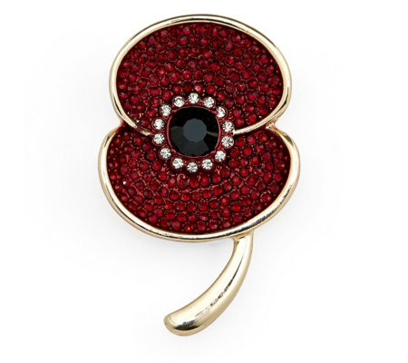 The Poppy Collection Sparkle Brooch by Buckley London
