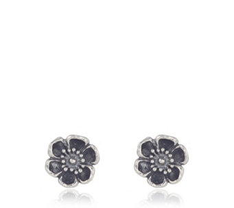 Or Paz Signature Garden Floral Stud Earrings Sterling Silver - 337193