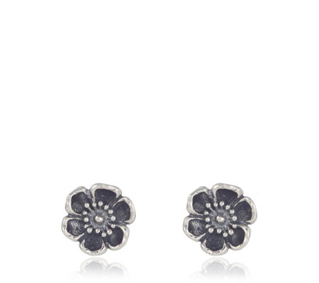 Or Paz Signature Garden Floral Stud Earrings Sterling Silver