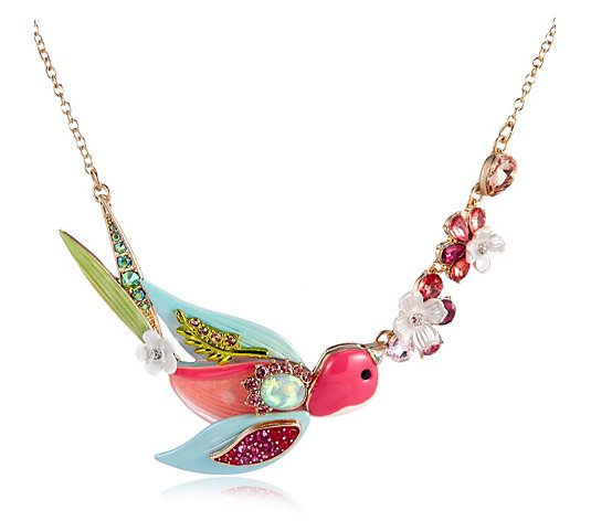 Betsey Johnson Swallow 42cm Necklace