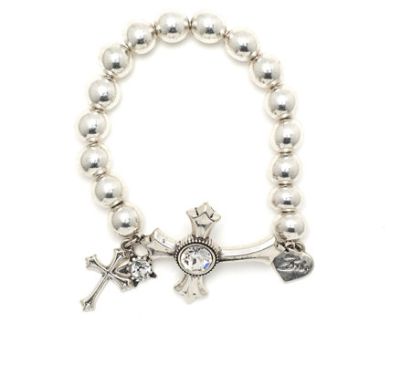 Bibi Bijoux Celtic Cross Ball Bracelet