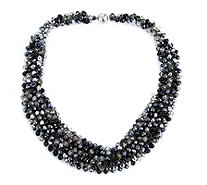Frank Usher Cluster Bead 45cm Necklace - 312795