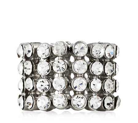 loveRocks Crystal Stretch Ring