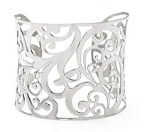 Rosalie Scroll Cuff Stainless Steel - 308999