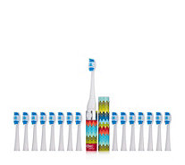 Sonic Chic Single Brush Toothbrush with 16 Heads - 402206