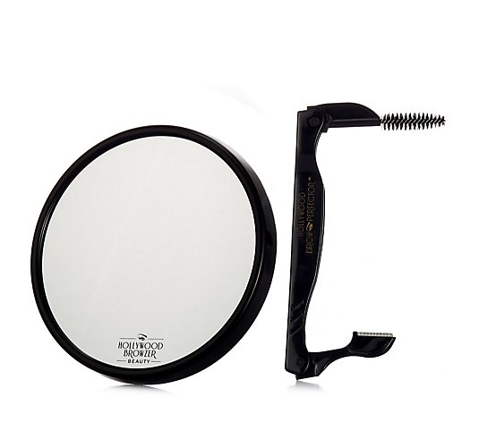 Hollywood Browzer Brow Perfector & 5x Magnification Mirror