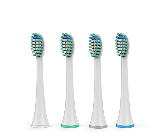 Smartcare Pack of 4 Replacement Tooth Brush Heads for Pro 4800 Ultra