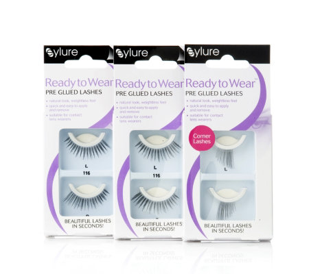 2d2eea297ad Eylure Pre Glued Ready To Wear Lashes for Evening Use - QVC UK
