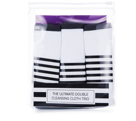 Tili Double Sided Cleansing Cloth 3 Piece Set