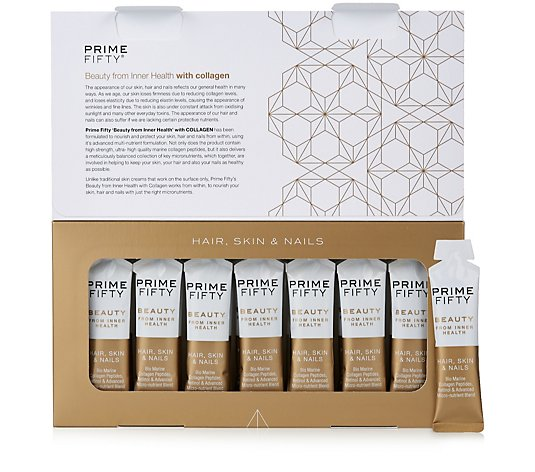 Prime Fifty Collagen Gel Shots 14 Day Supply