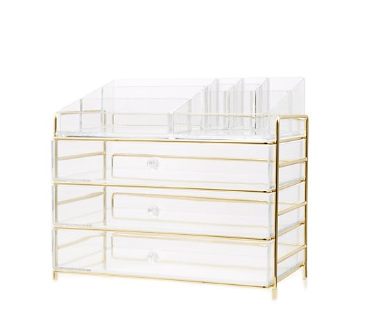 Tili Framed Acrylic Storage Drawer Set