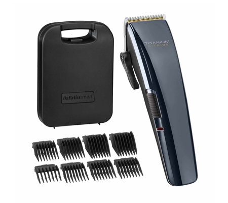 Babyliss for Men Titanium Nitride Hair Clippers Set 7471U