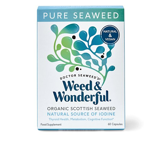 Doctor Seaweed Weed & Wonderful Organic Scottish Seaweed 60 Capsules