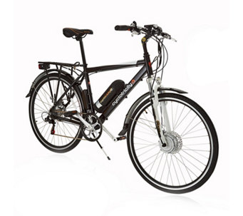 Cyclotricity Revolver 250W 11Ah Crossbar eBike with Bag & Lights - 401639
