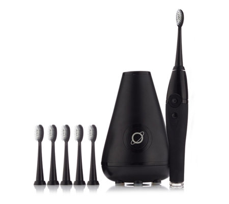 Tao Clean Sonic Toothbrush With UV Sanitiser Charging Dock & 6 Brush Heads