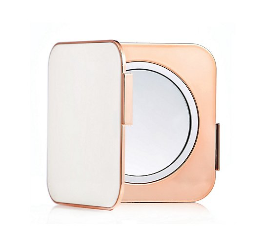 Simply Beauty Luxury Compact Mirror & Tweezer