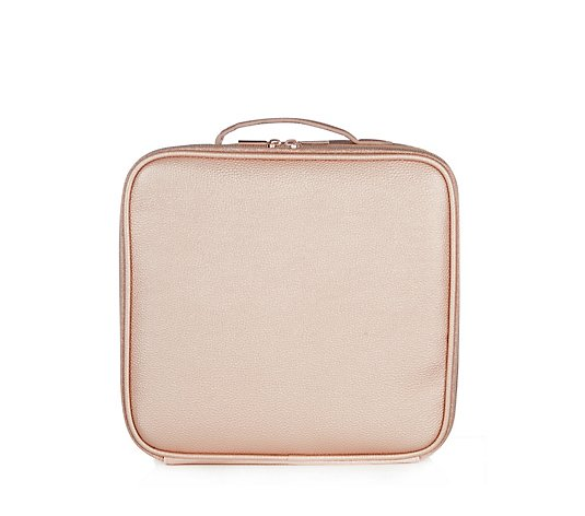 Tili Metallic Make-Up Organiser Large Vanity Case