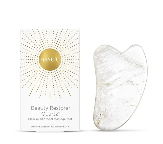 Hayo'u Clear Quartz Beauty Restorer Facial Massage Tool