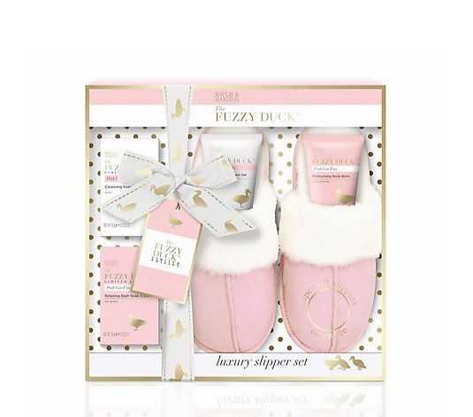 Baylis & Harding Fuzzy Duck Slipper Gift Set
