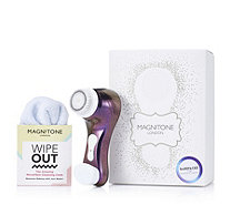 Magnitone BareFaced Vibra Sonic Facial Cleansing Brush w/ Wipeout - 401984