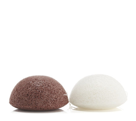 The Konjac Sponge Co. Solution Kit Set of 2 Sponges