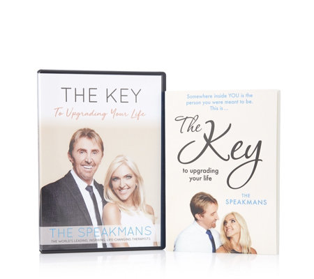The Speakmans The Key to Upgrading Your Life Book & DVD