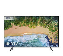 "Samsung 7 Series UE75NU7100 75"" Flat 4K LED Smart TV 4K Blu Ray - 517203"