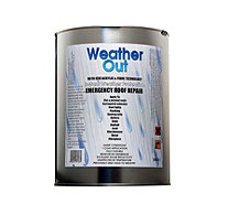 Weather Out Emergency Roof Repair 5kg Tin - 508808